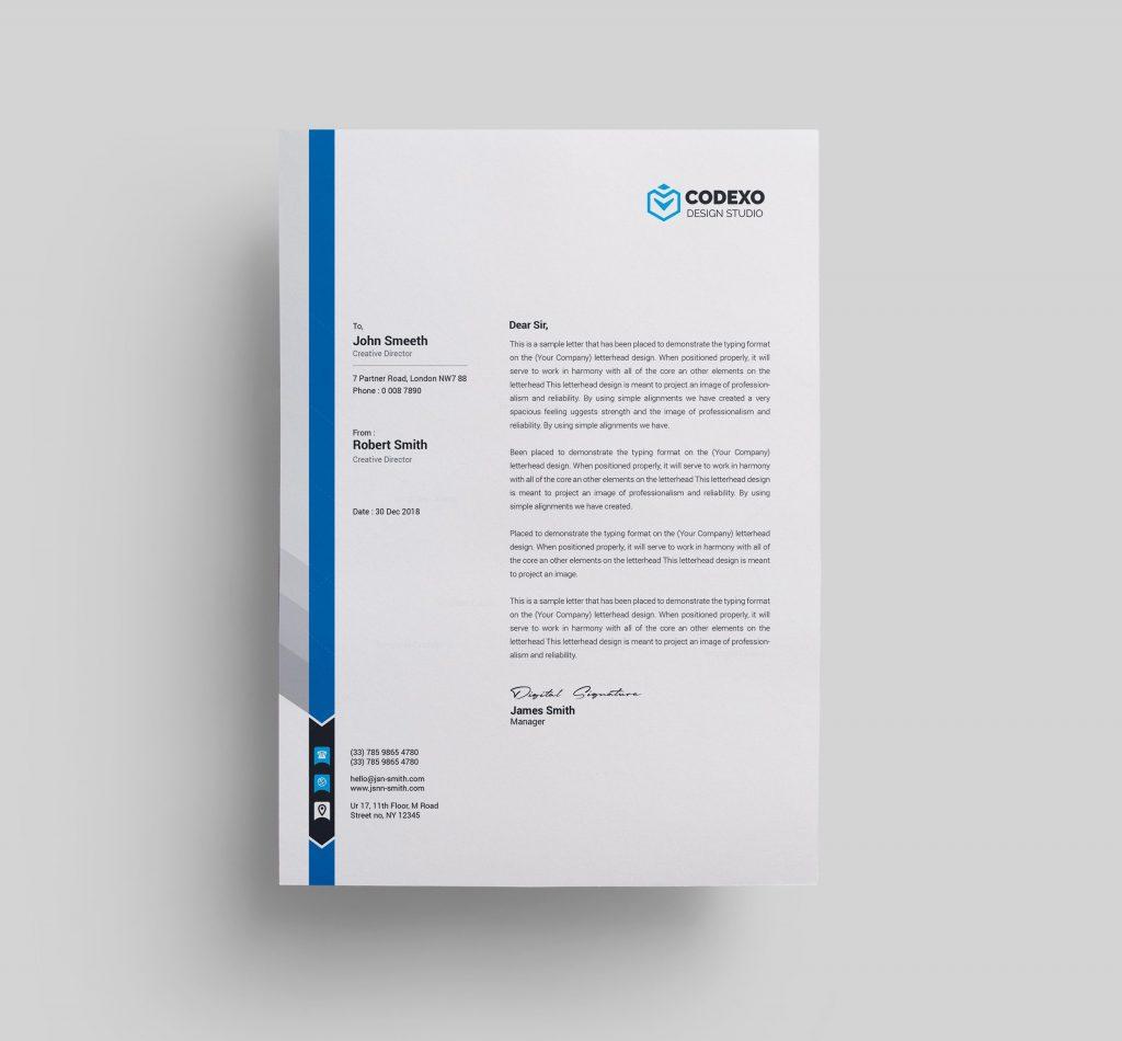 Letterhead Templates - Graphic Prime | Graphic Design Templates