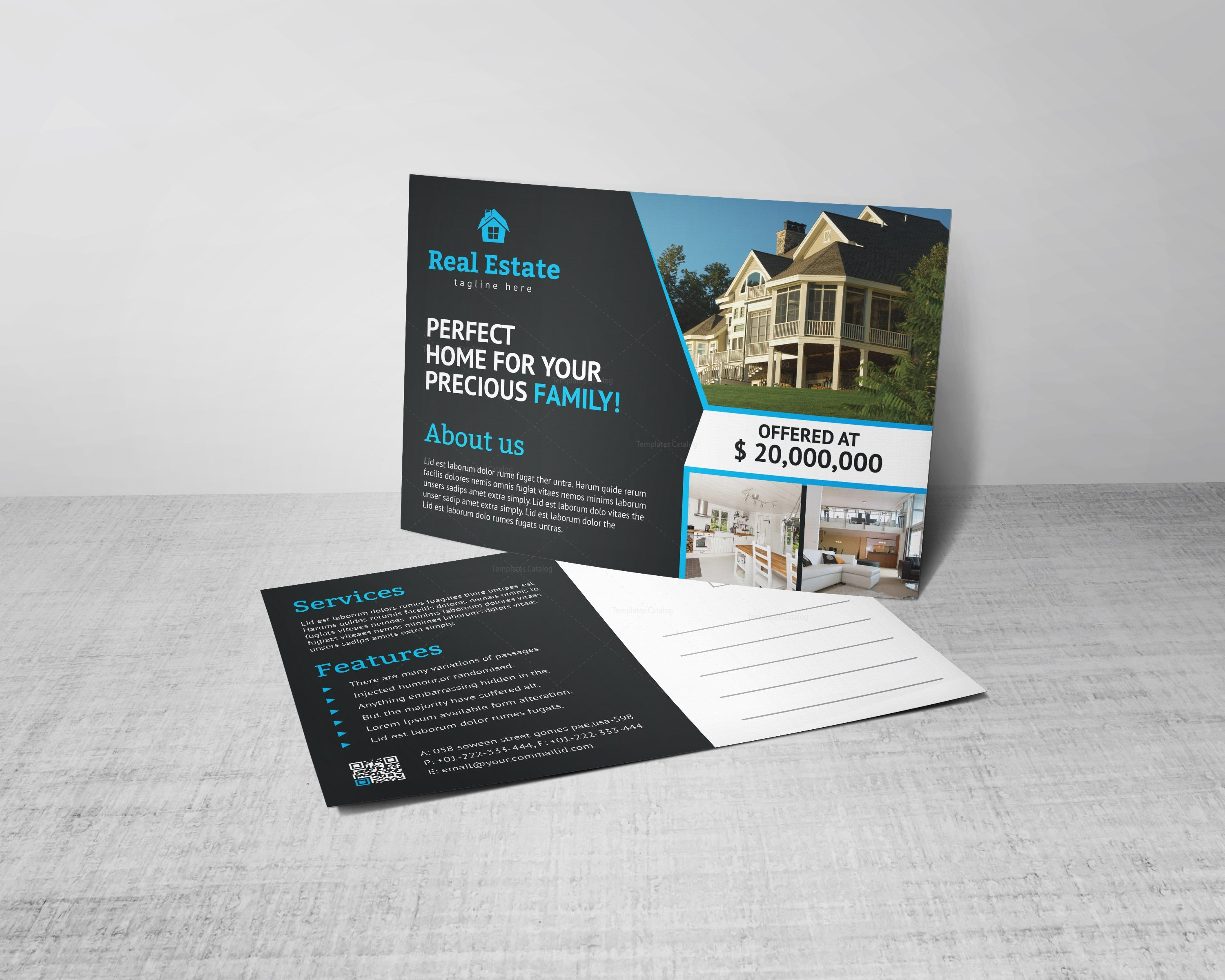 Real Estate Postcard Template from www.graphicprime.com